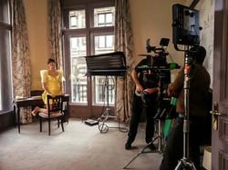 ERic Nzu tournage