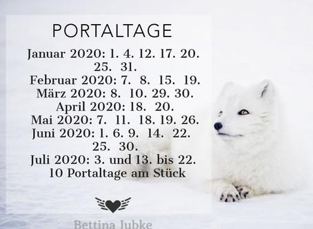 Portaltage 2020 - 1.Halbjahr...