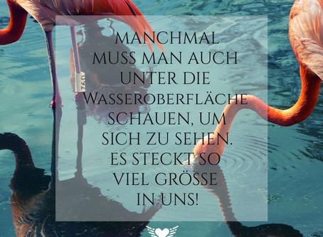 Unsere Stärke findest Du unter der Wasseroberfläche...