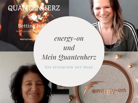 Mein ERSTES Quantenherz-Interview mit Cornelia von energy-on