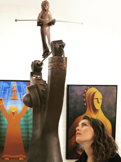 High Wire in gallery show
