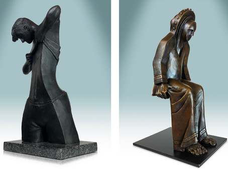 Two Bronzes accepted into Golden Ticket Show