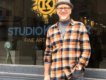 StudioKroner Opens April 15, 2021 in Former Dick Waller's Art Place