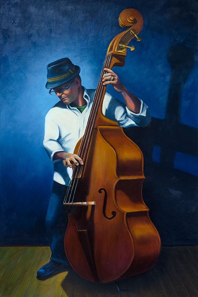 Paul_Kroner_The-Jazzman_oil-on-linen