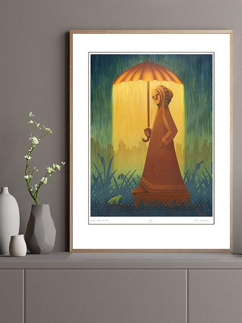Twood: Rain on Me (print)
