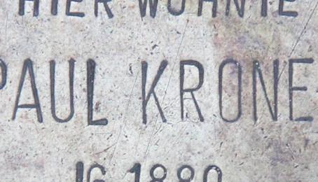 Paul Kroner lived here….