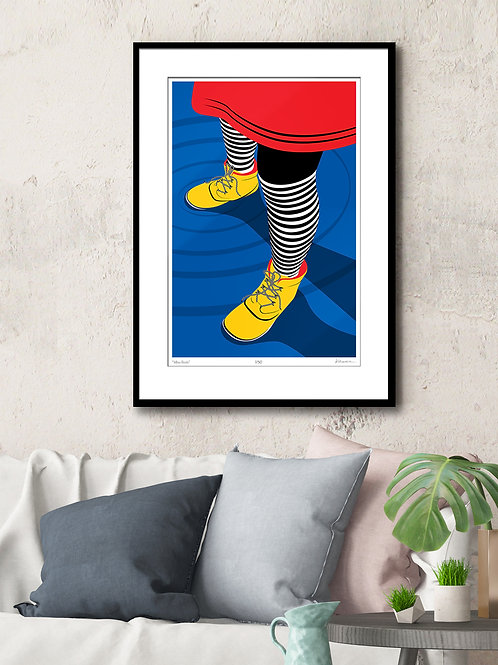 Yellow Boots (print)