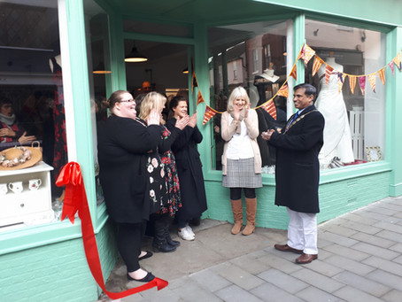 New Charity Shop with a big difference