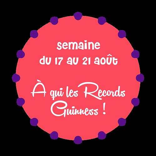 À QUI LES RECORDS GUINNESS !  / SAINT-AMABLE
