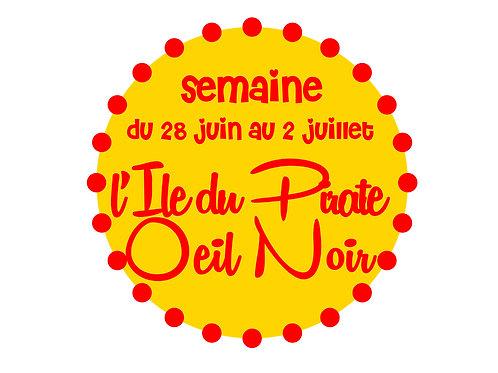 L'ÎLE DU PIRATE OEIL NOIR / SAINT-AMABLE