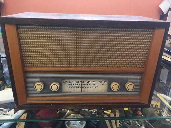 Vintage valve radio $95.00.JPG