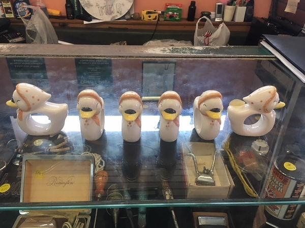 6 Duck Napkin Holders $12.50.JPG