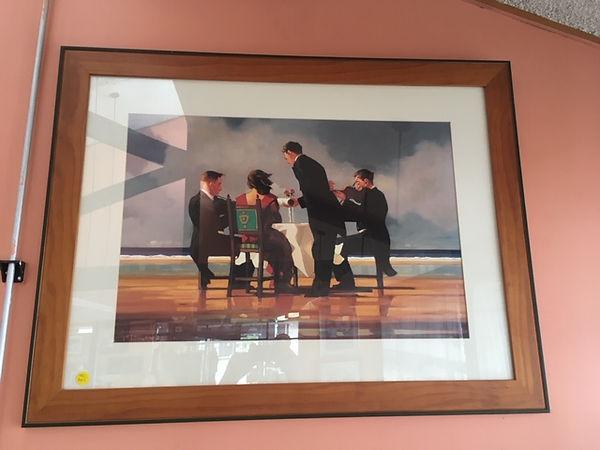 Framed Vettriano Print $165.JPG