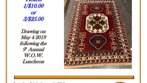 Win a Traditional Handmade Armenian Rug and Support FAR Through the WGCC Raffle