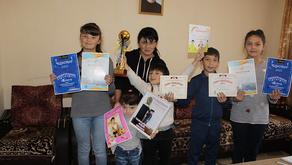 CASP Support Helps Five Talented Children