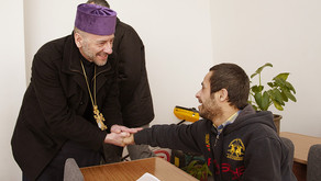 Bishop Daniel Visits FAR's Parakar School and Children's Center