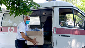 Ayo Distributes PPEs to Medical Centers in Kotayk Province