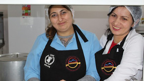 Improved Dining Facilities Benefit Children in Tavush