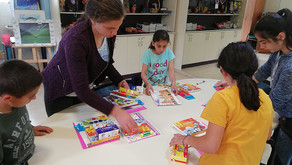 Children's Center Art Therapy Initiative to Help Refugee and Displaced Children in Yerevan
