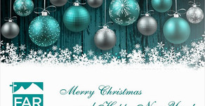 Merry Christmas and Happy New Year from FAR