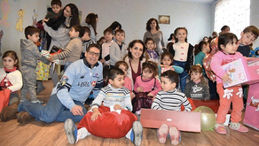 HSBC's Holiday Toy Drive Helps Children in the Berd Region