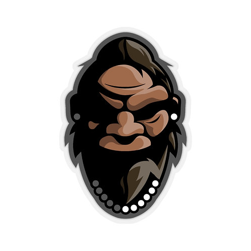 Mrs Squatch Kiss-Cut Sticker