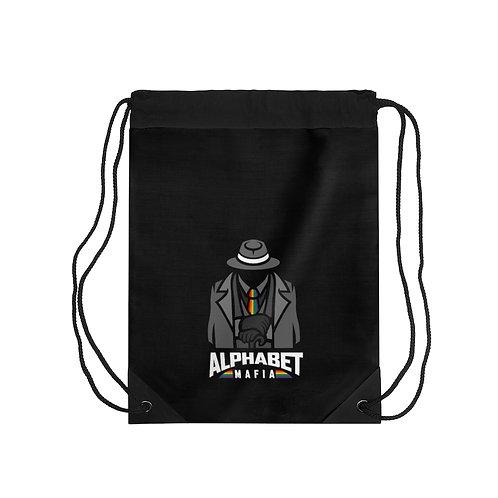 Alphabet Mafia Drawstring Bag