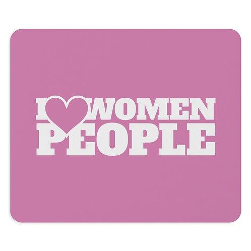 I Heart Women People Mousepad