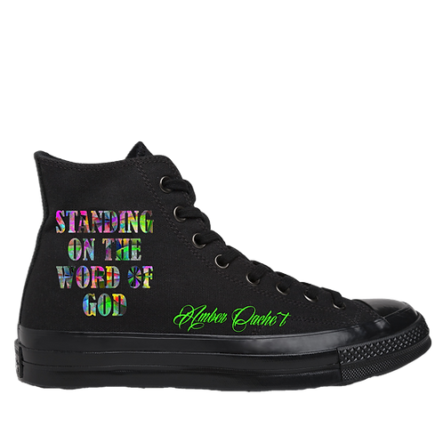 Standing On The Word Of God High Top Sneakers