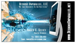 Designs Unparallel Biz Card