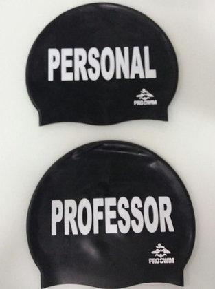 Touca para Natação de Silicone Professor / Personal