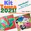 Thumbnail: Kit de Toucas de Silicone Misto