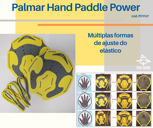PALMAR HAND PADDLE POWER