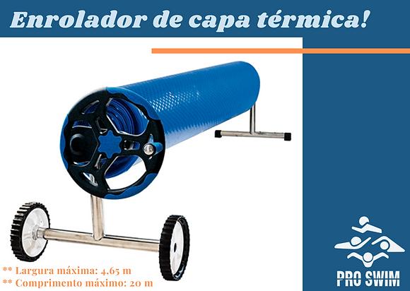 Enrolador de Capa Térmica em Inox 4,65 mts