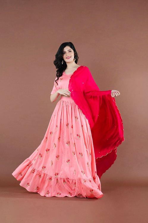 Blush Pink Lehenga Choli