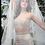 Thumbnail: Beige Mermaid Skirt with Halterneck Blouse & dupatta