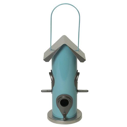 COTTON CANDY BIRD FEEDER 4 FEEDING PORTS W/ RAIN GUARDS