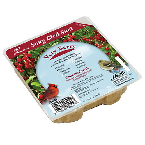 9.25 OZ SONGBIRD VERY BERRY SUET CAKE