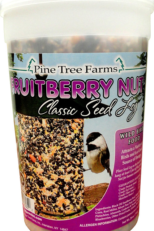28 OZ FRUIT BERRY NUT CLASSIC SEED LOG
