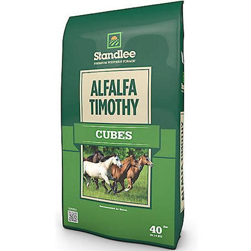 40 # Premium Alfalfa Timothy Hay Cubes