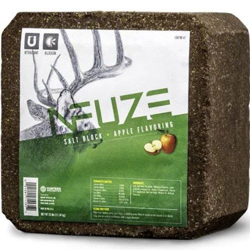 NFUZE Apple Flavored Salt Block 25 lbs