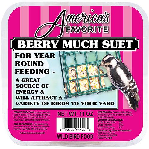 11 oz Berry Punch Suet Cake