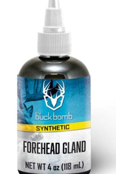 4 oz Synthetic Forehead Gland Liquid w/ 4 Wicks