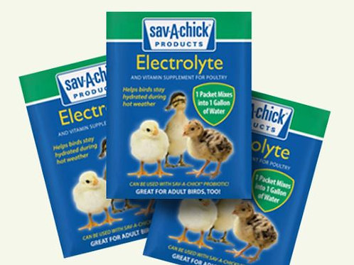 0.25 OZ SAV-A-CHICK ELECTROLYTE & VITAMIN SUPPLEMENT (STRIP OF 3)
