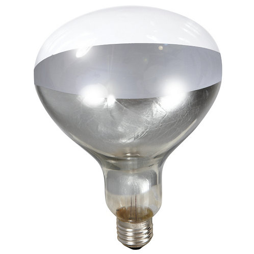 Clear Heat Lamp Bulb 250 Watts