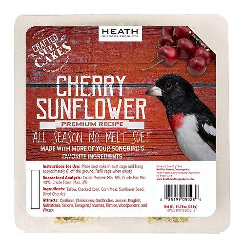 11.75oz Red Premium Cherry Sunflower Suet Cake