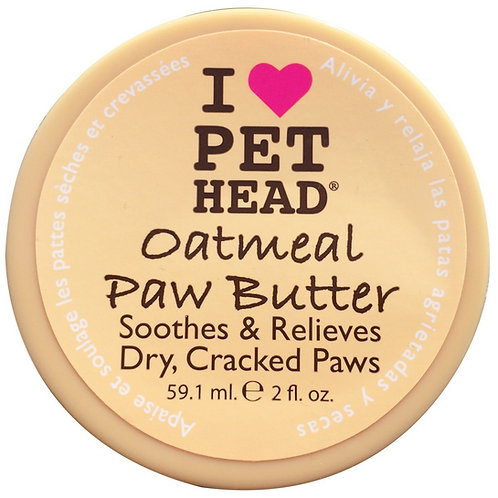 2 OZ OATMEAL NATURAL PAW BUTTER FOR DOGS