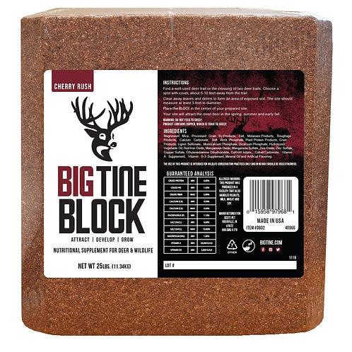 25 # CHERRY RUSH Deer Mineral Block