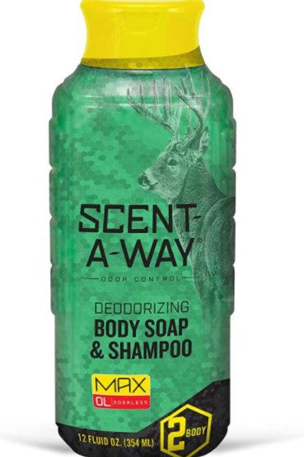 Scent-A-Way MAX Liquid Body Soap & Shampoo