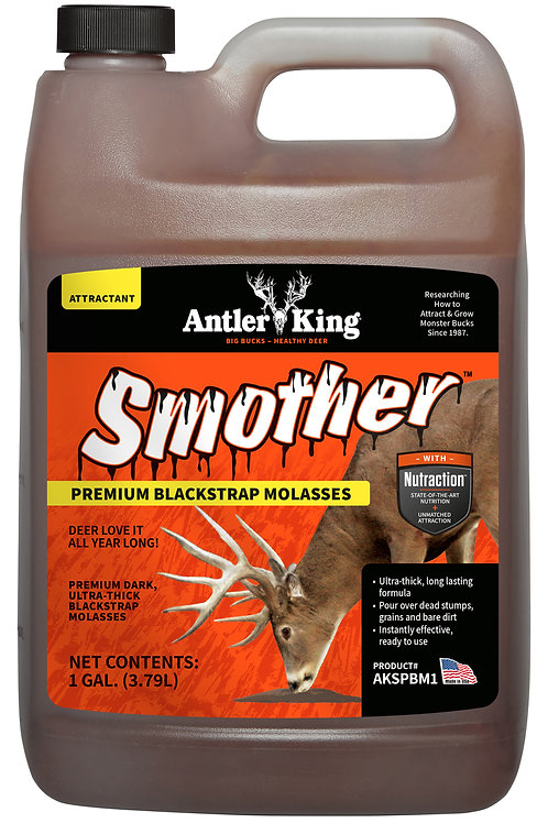 1 Gallon Smother Molasses Infused Attractant